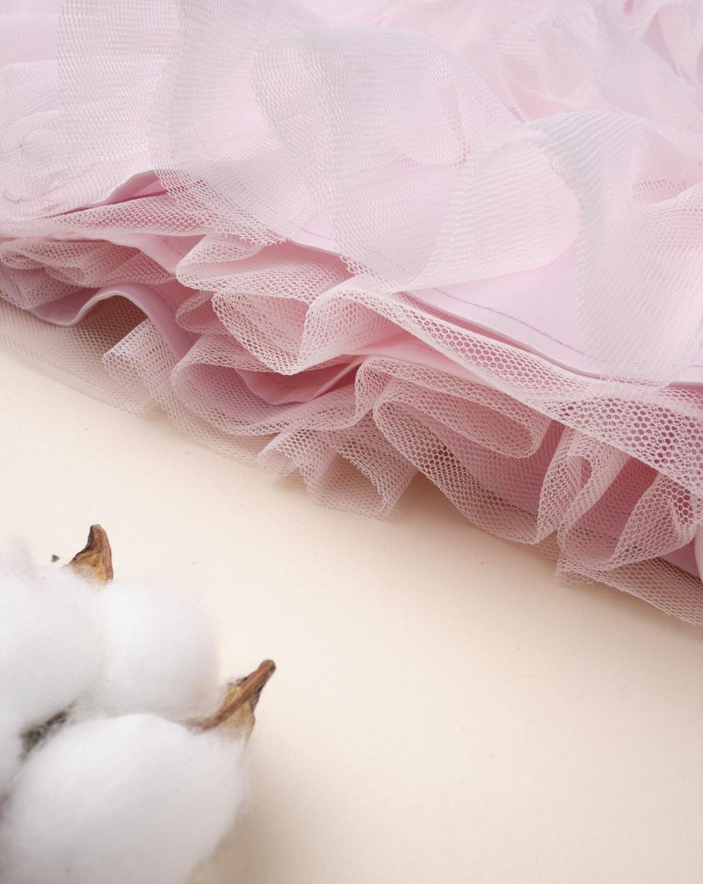 "Abito da cerimonia bimba ""pink & white"" - Prénatal"