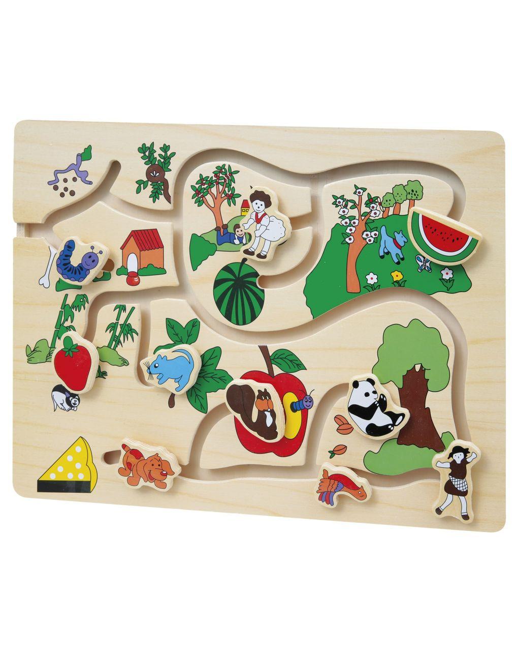 Wood'n'play - puzzle circuito - Wood'N'Play