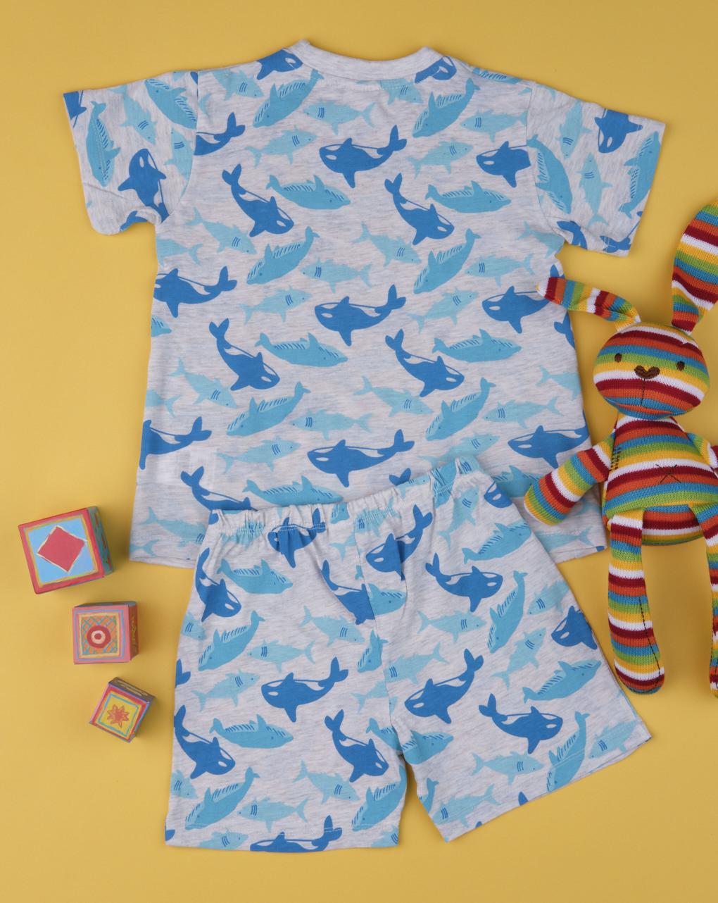 """Pack 2 completi bimbo """"delfino small"""" - Prénatal"""