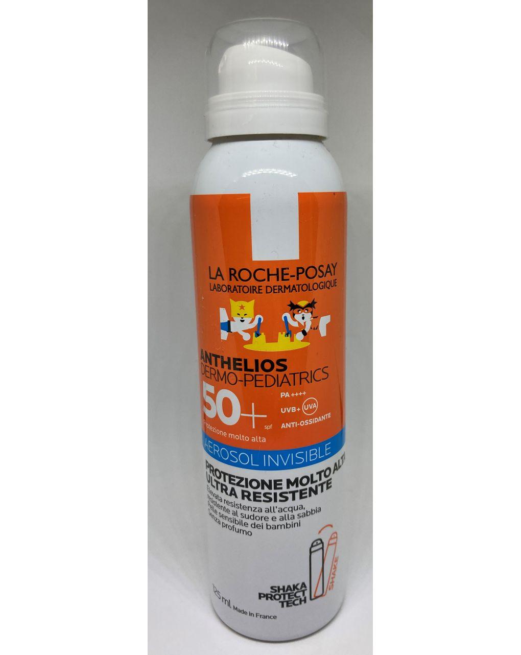 Solare la roche posay anthelios dermo-pediatrics  aerosol invisible 50+ 125 ml - La Roche Posay
