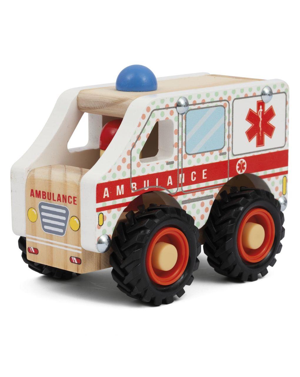 Wood'n'play - mini veicoli in legno - Wood'N'Play