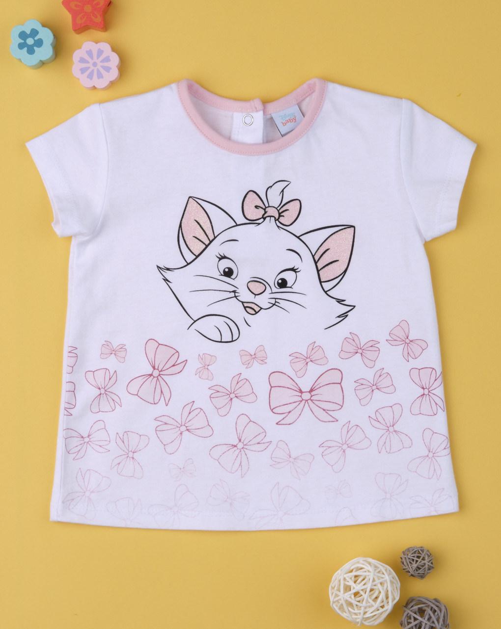 "T-shirt bimba ""gatto pink"" - Prénatal"
