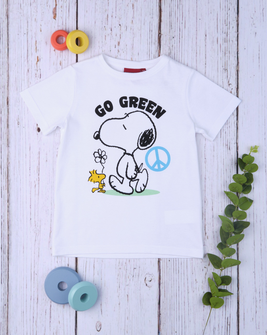 "T-shirt bimbo ""go snoopy"" - Prénatal"