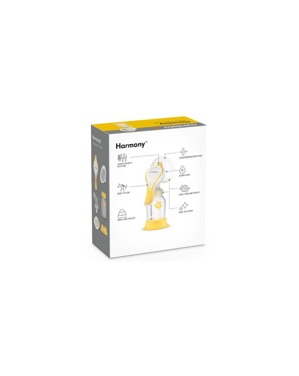Tiralatte manuale harmony con tecnologia flex - Medela