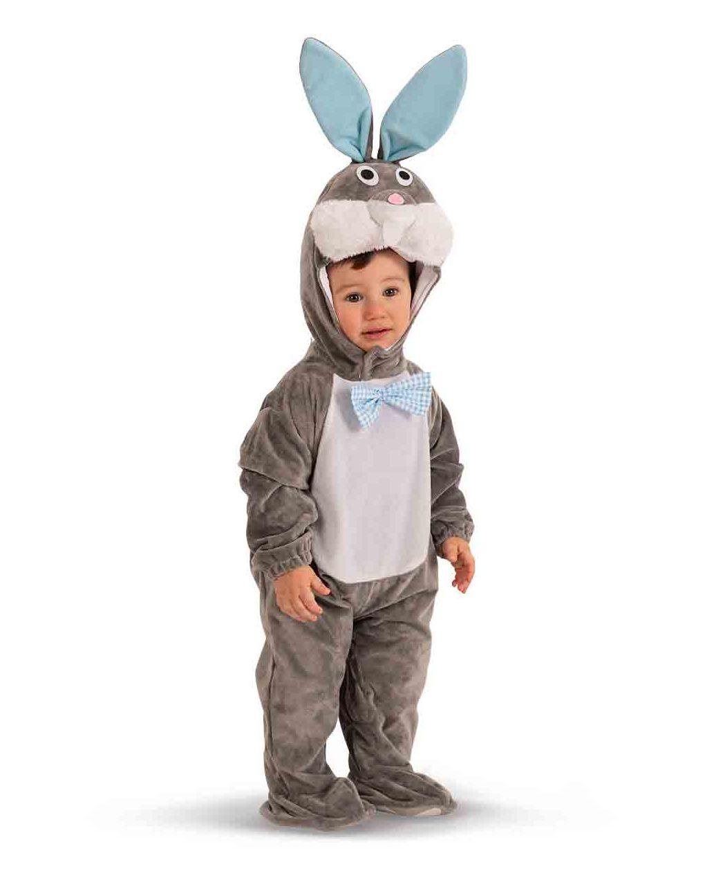 Tutina coniglietto in pellicetta con cappuccio (6/12 mesi) - Carnival Toys