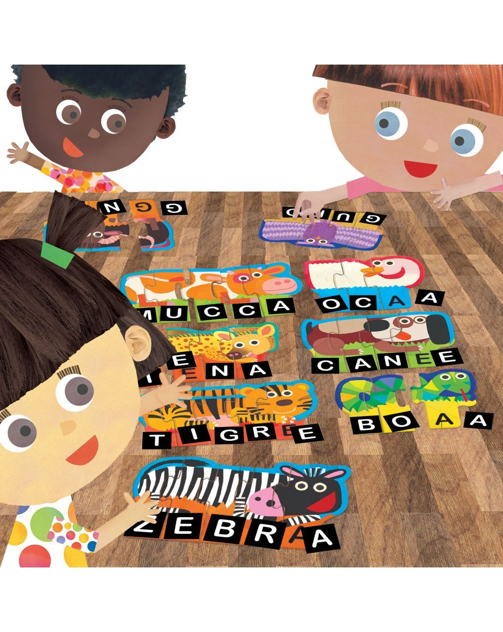 Headu - tombola lettere e parole - Headu