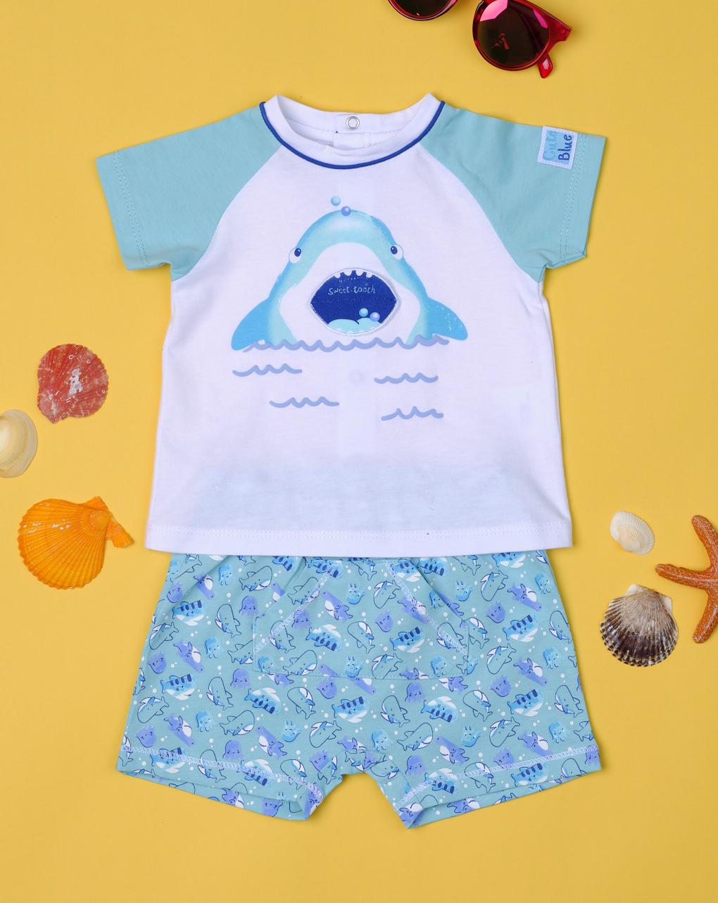 """Completo boy """"shark"""" - Essential by Prénatal"""
