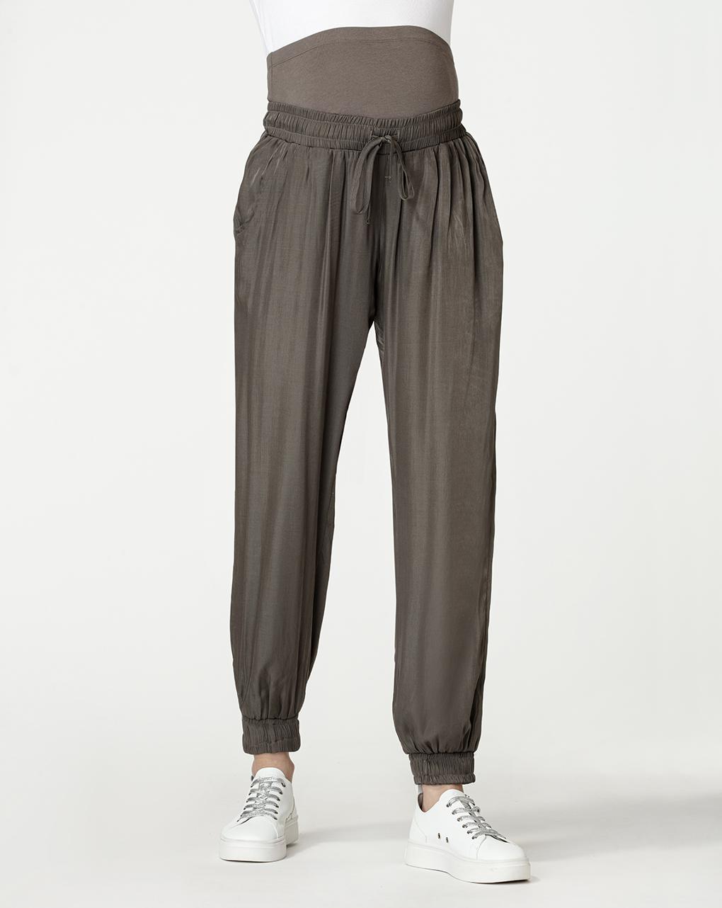 Pantaloni premaman verde scuro - Prénatal