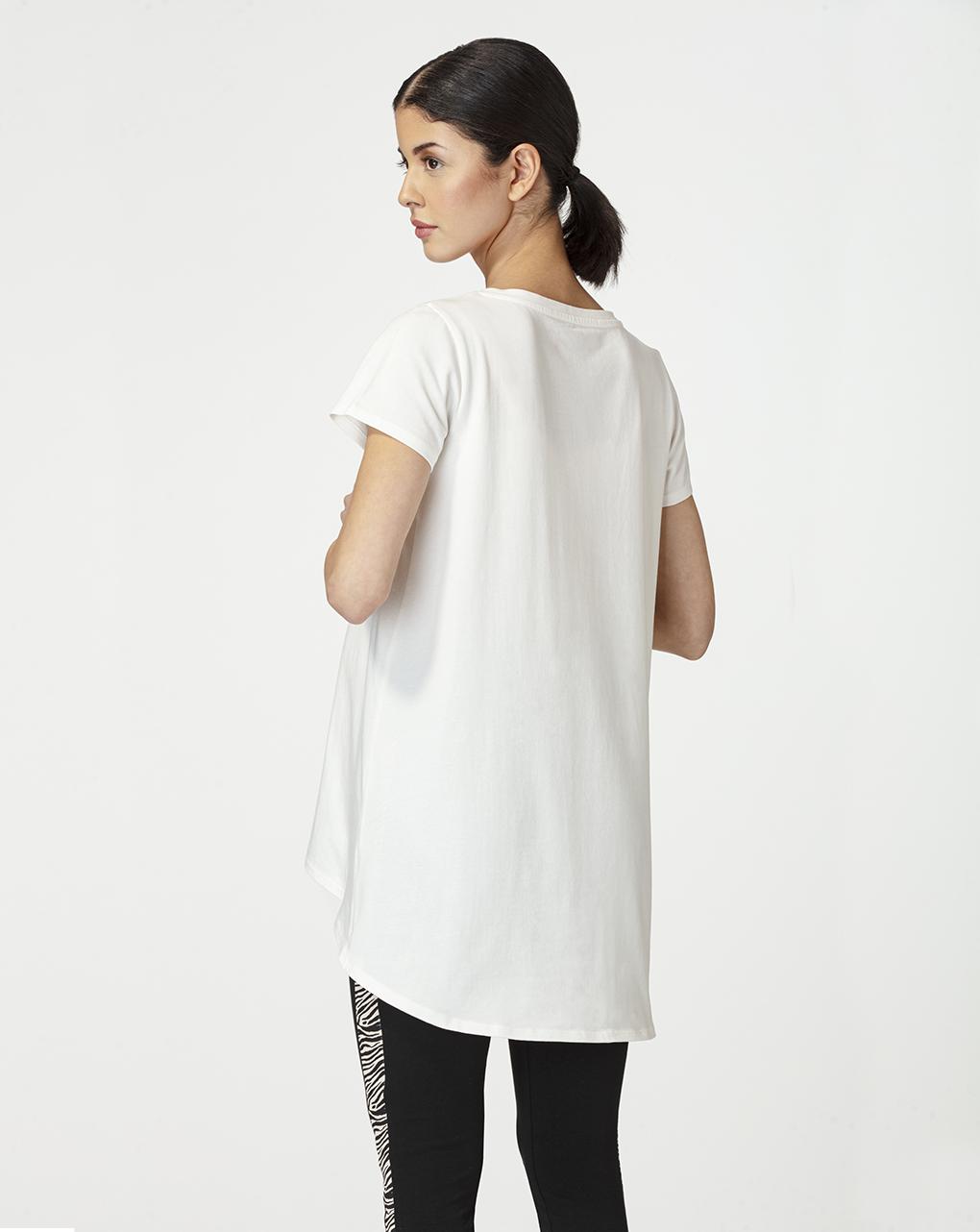 T-shirt premaman con stampa metallizzata - Prénatal