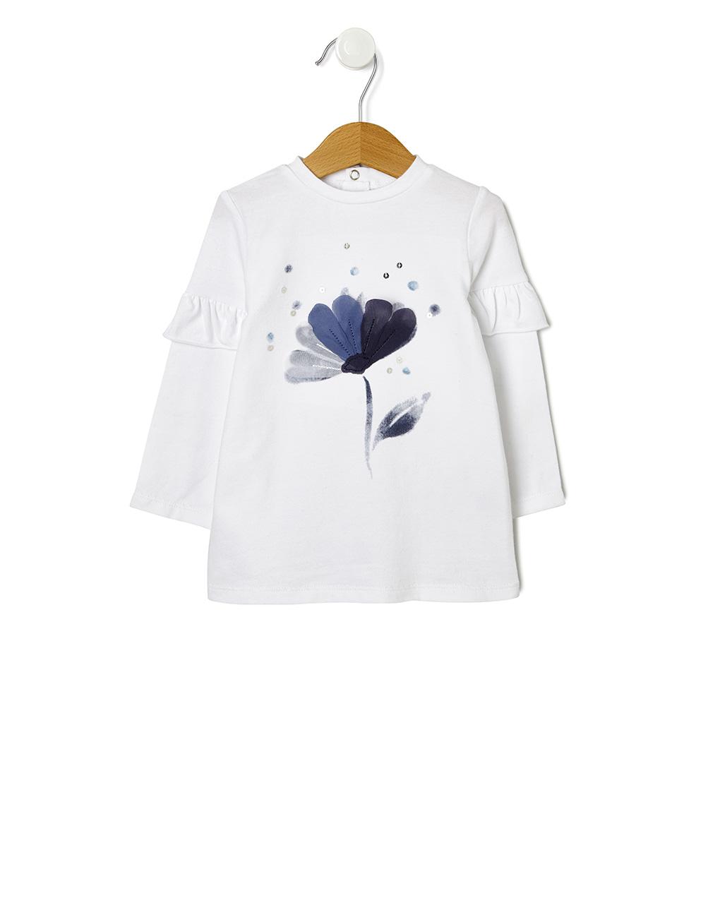 T-shirt con fiore - Prénatal