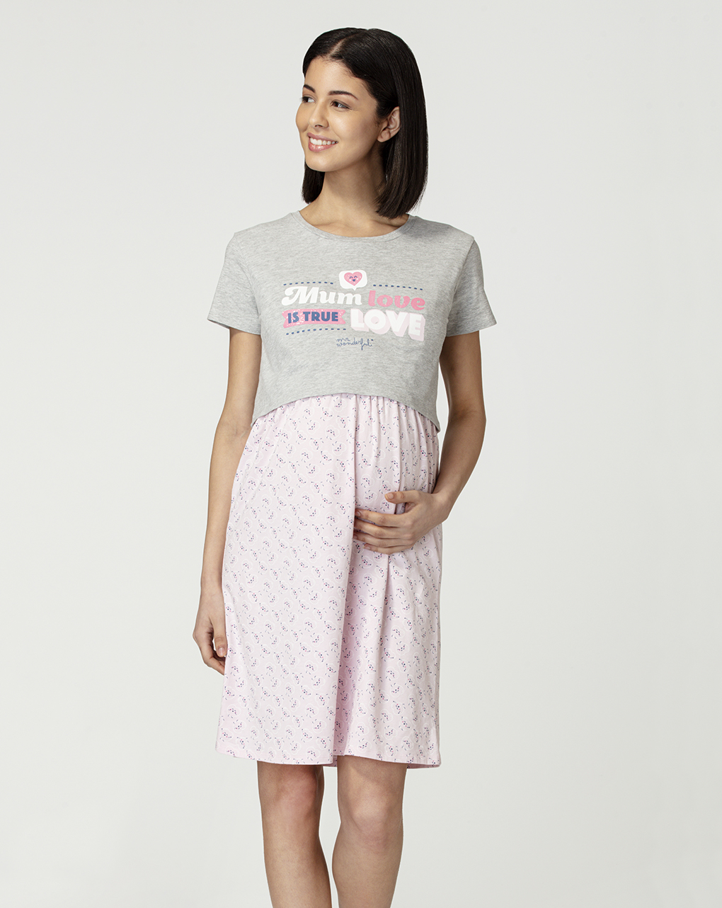 Camicia da notte allattamento - Prénatal