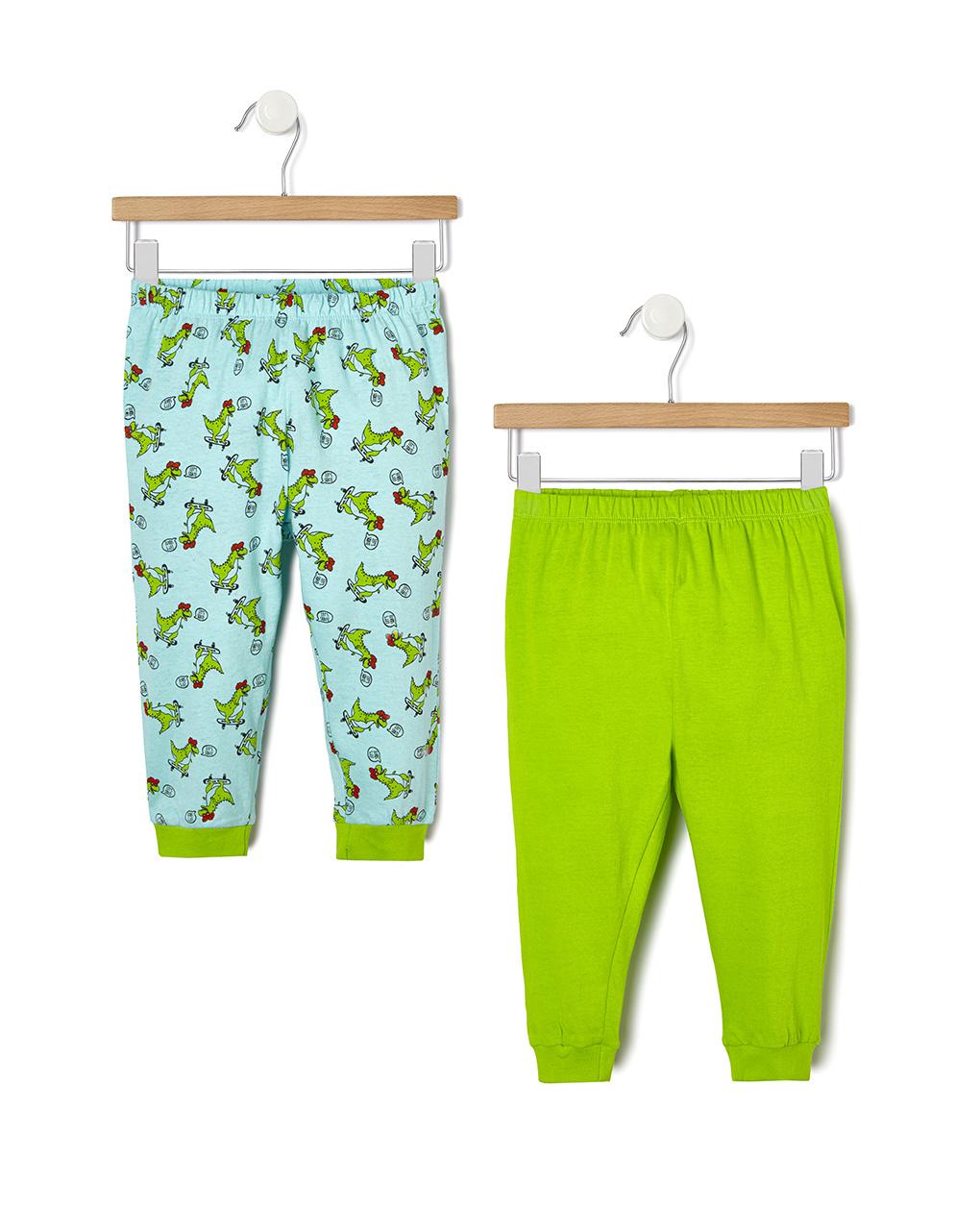 Pack 2 pigiami con stampa dinosauri - Prénatal