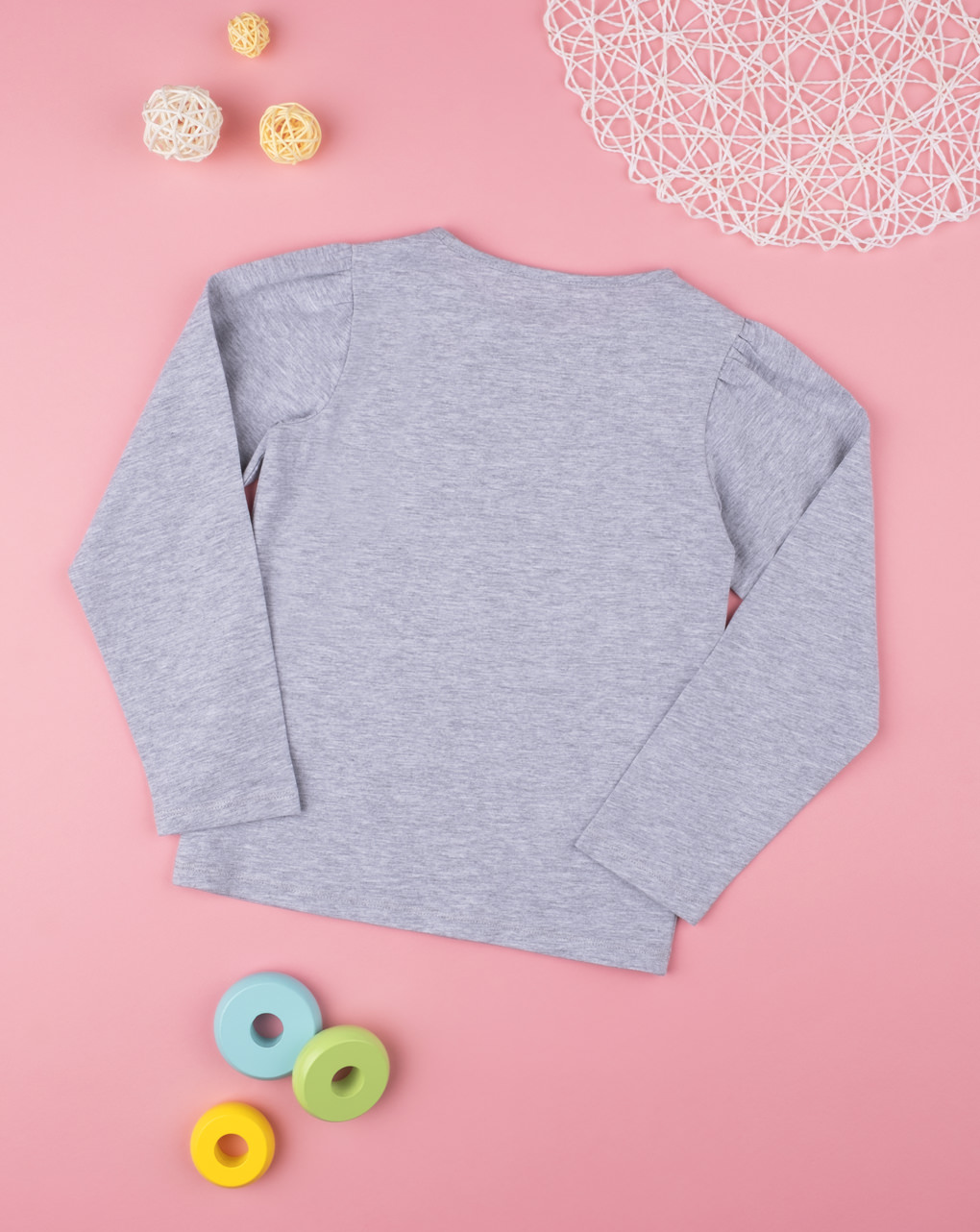 T-shirt girl grey - Prénatal