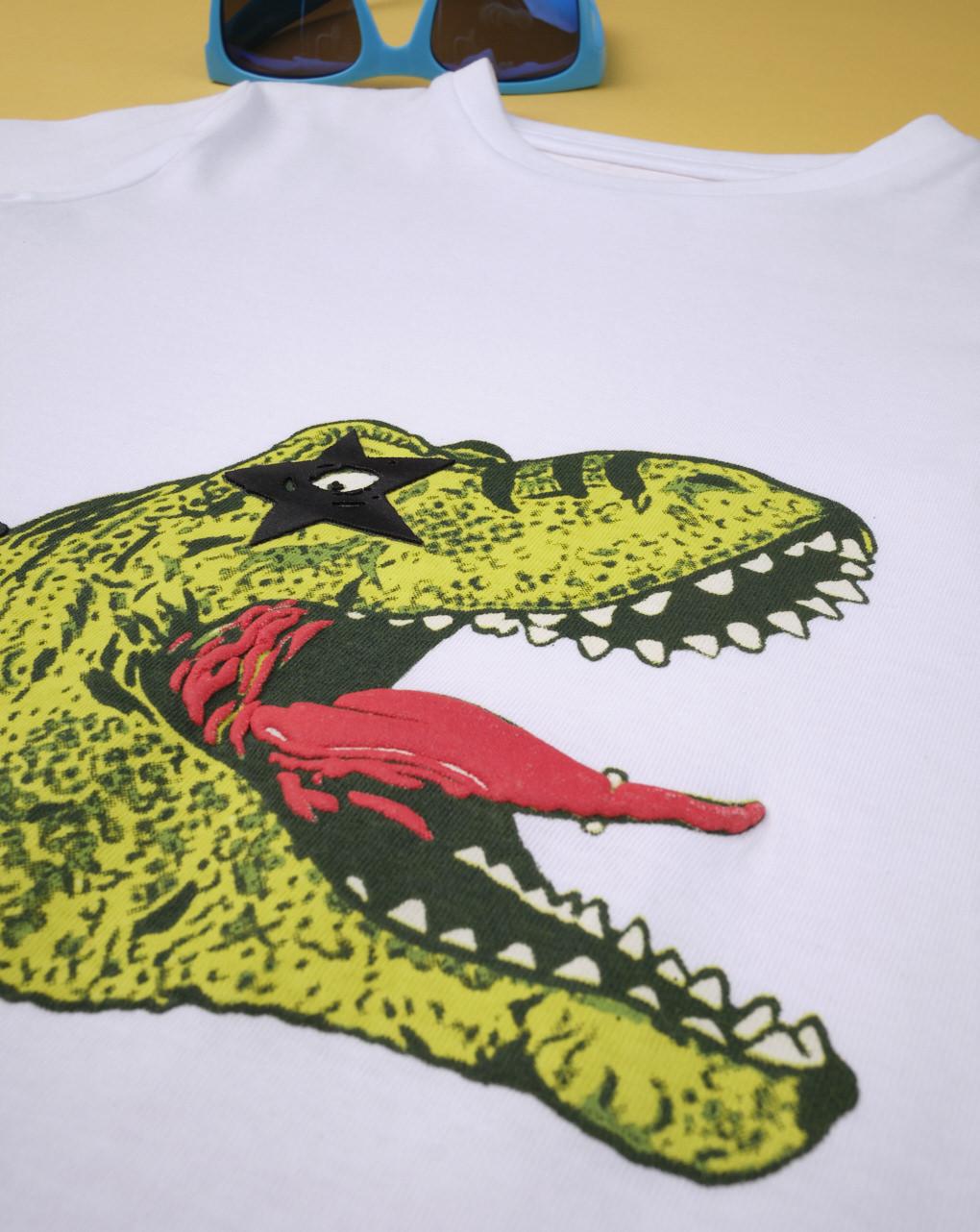 "T-shirt boy ""dinosauro rockstar"" - Prénatal"