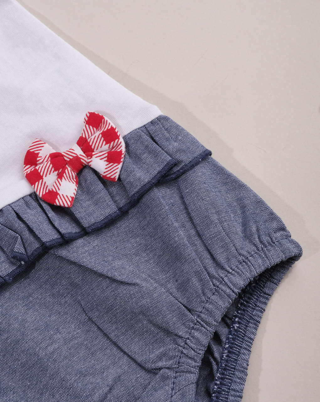 "Pagliaccetto bimba ""teddy"" versione blue jeans - Essential by Prénatal"