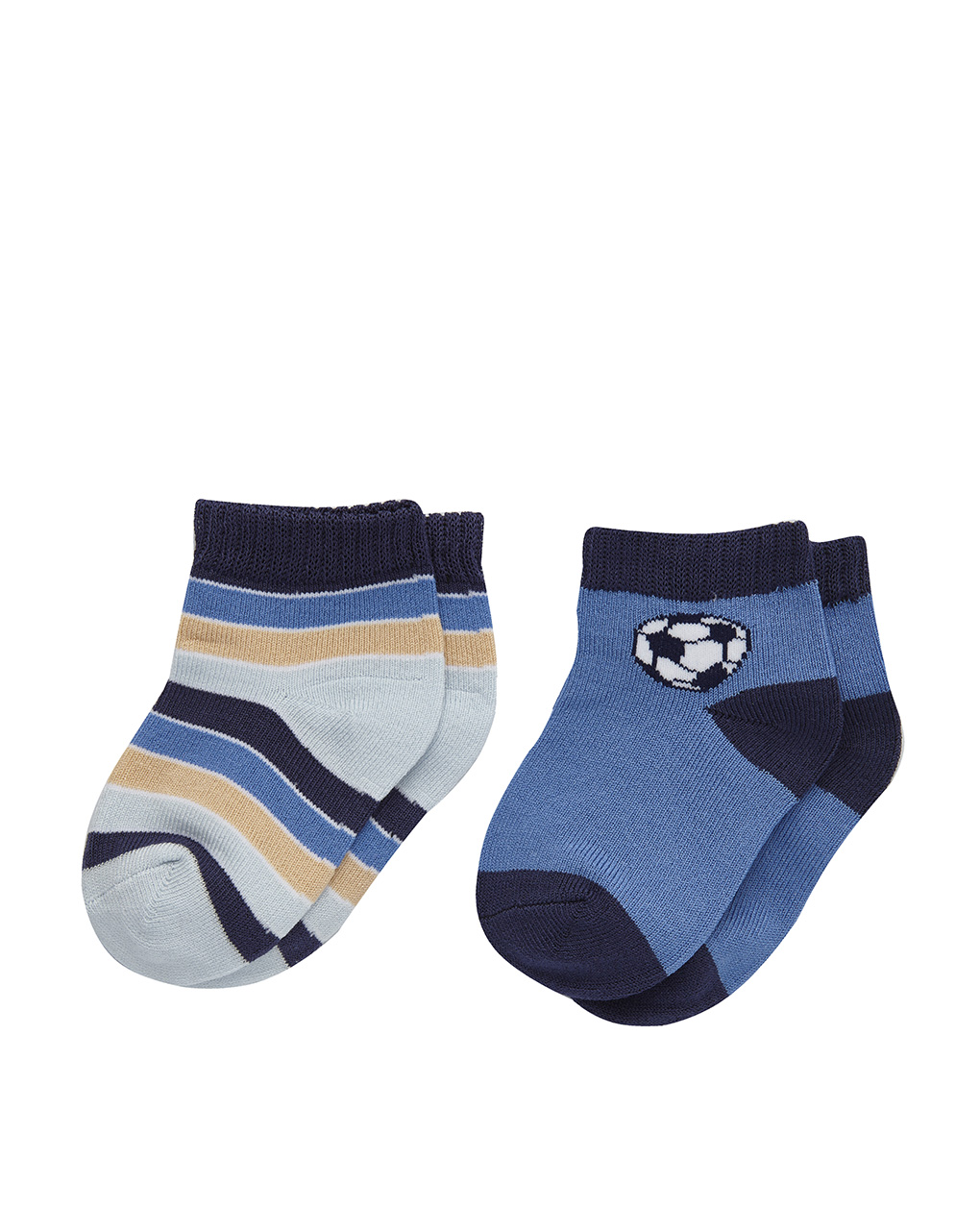 Pack 2 paia calze stampa sport - Prénatal