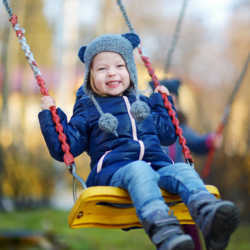 Bambini all'aperto, anche in inverno - Prénatal Easychic
