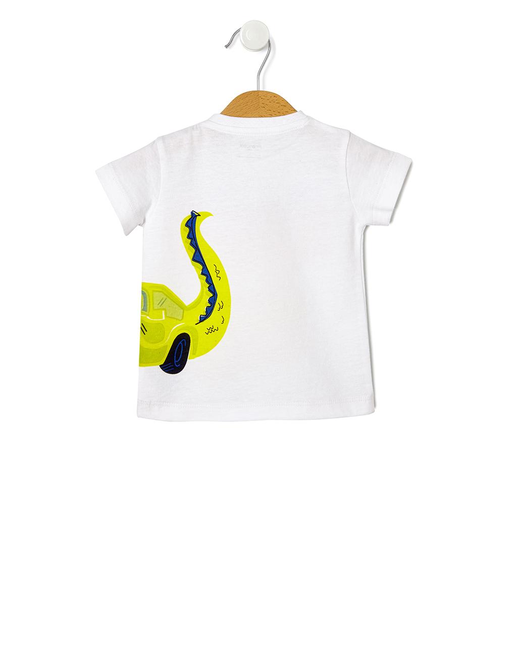 T-shirt stampa coccodrillo - Prénatal