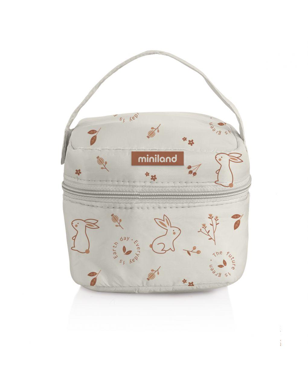 Pack-2-go natursquare bunny - Miniland