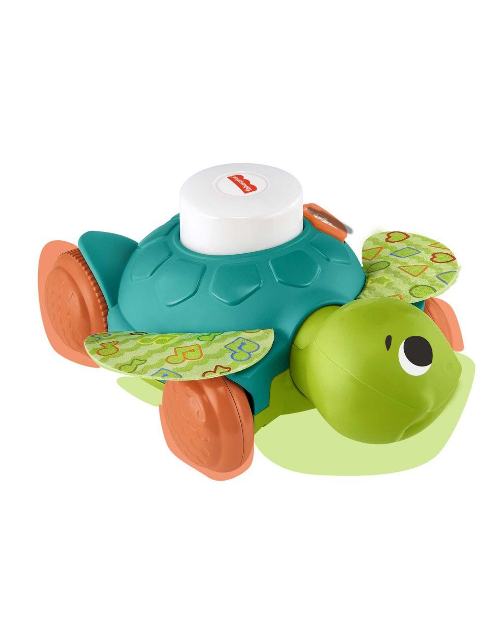 Fisher price - parlamici tartaruga gattona con me - Fisher-Price
