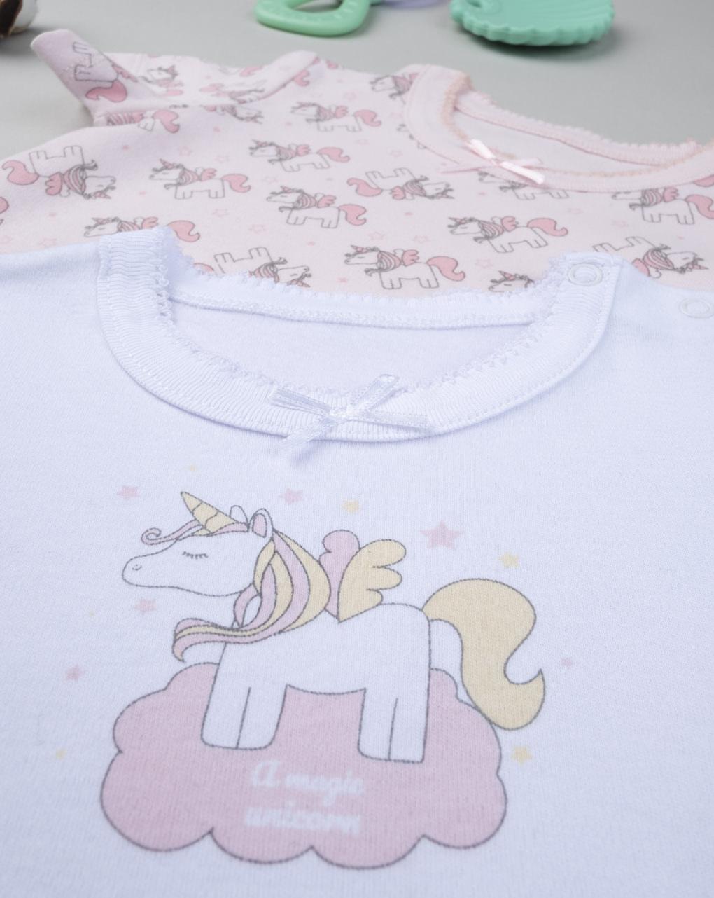 """Pack 2 body bimba """"pony"""" - Prénatal"""