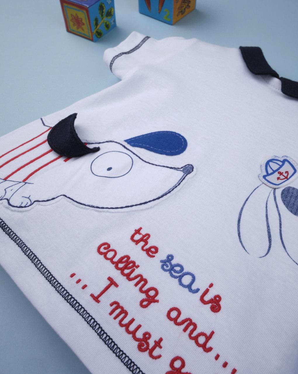 """Completo bimbo """"dog and sea"""" - Prénatal"""