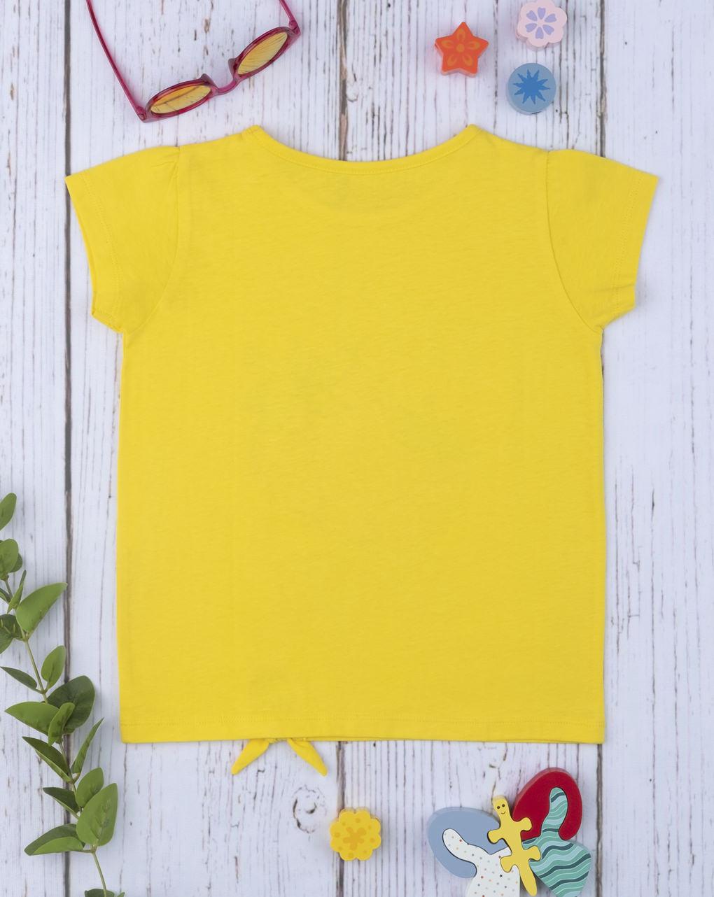 """T-shirt girl """"fragola"""" con nodino - Prénatal"""