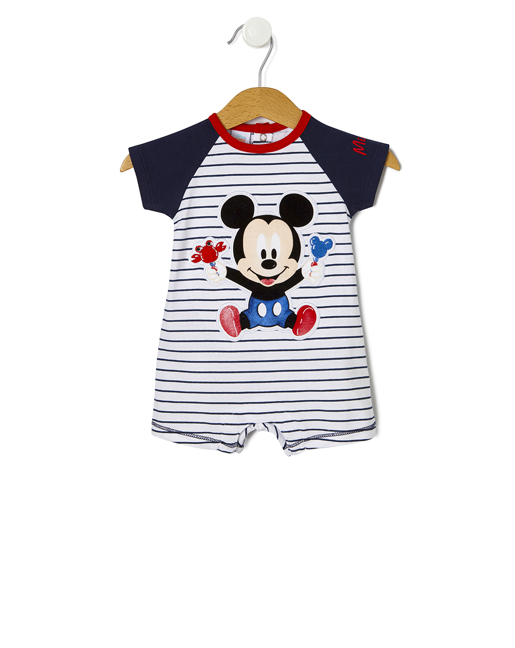 Tutina in jersey con stampa baby mickey mouse - Prénatal