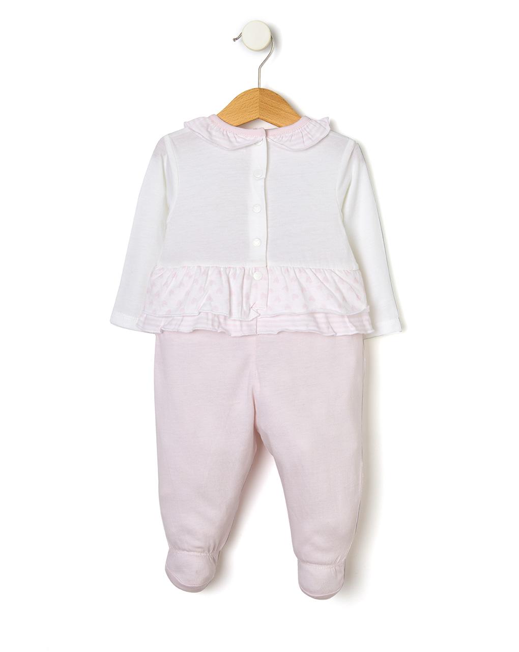 Tutina in jersey con patch orsetto - Prénatal