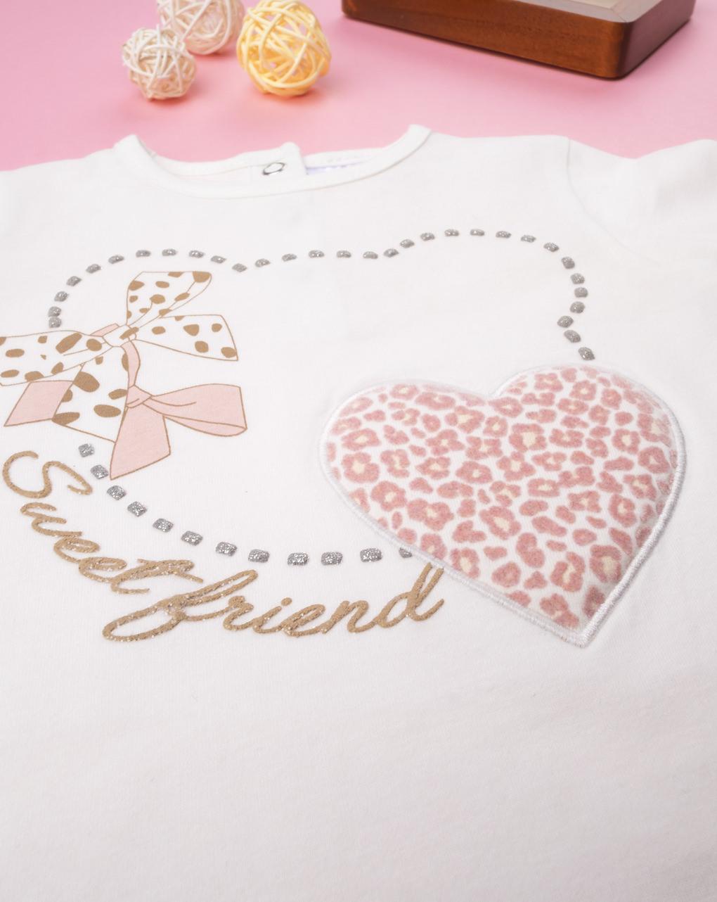 """T-shirt girl """"sweet friend"""" - Prénatal"""