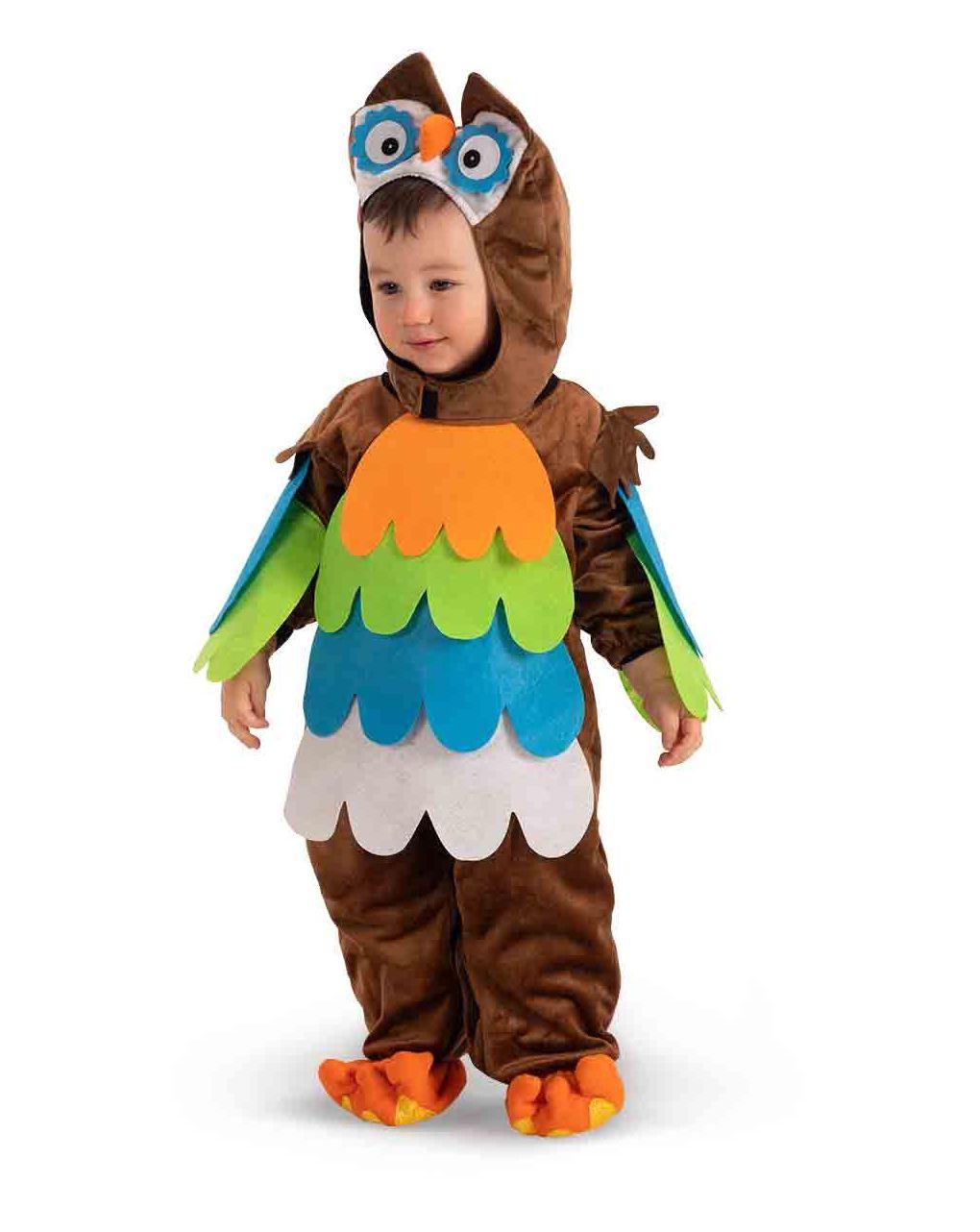 Tutina gufetto in pellicetta con cappuccio (12/18 mesi) - Carnival Toys