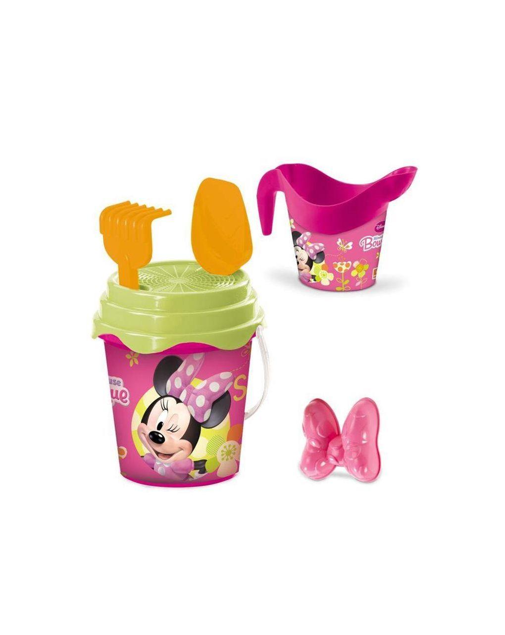 Minnie bucket set d. 17 + innaff. + acc. - Mondo