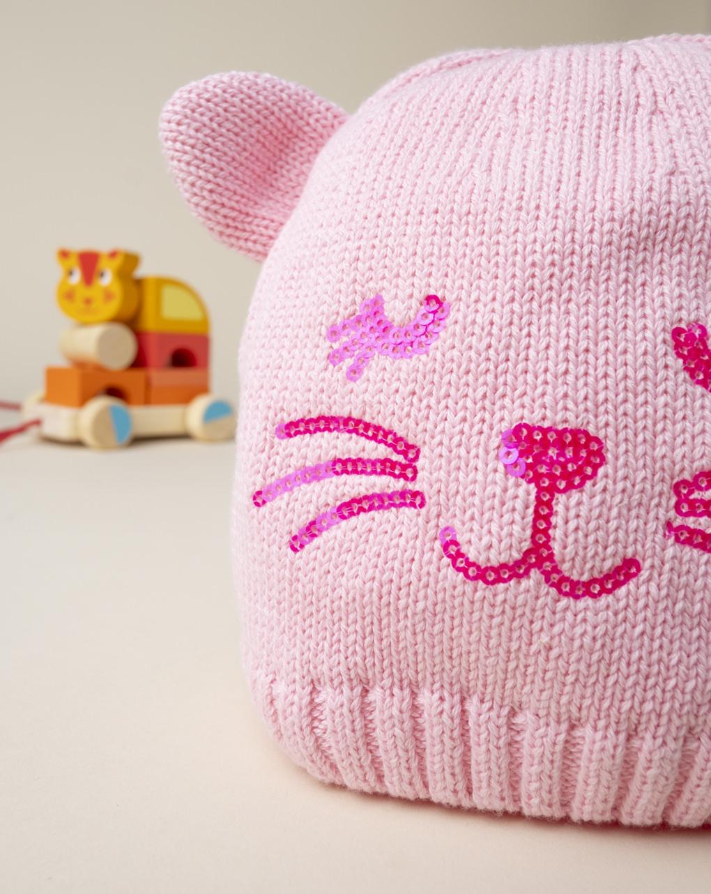 """Cappello bimba """"gatto"""" - Prénatal"""