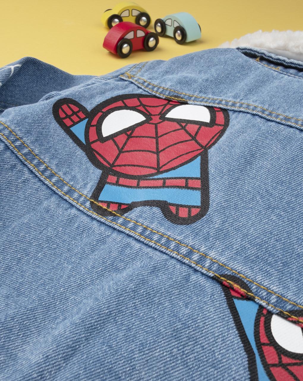 "Giubbino jeans boy ""spiderman"" - Prénatal"