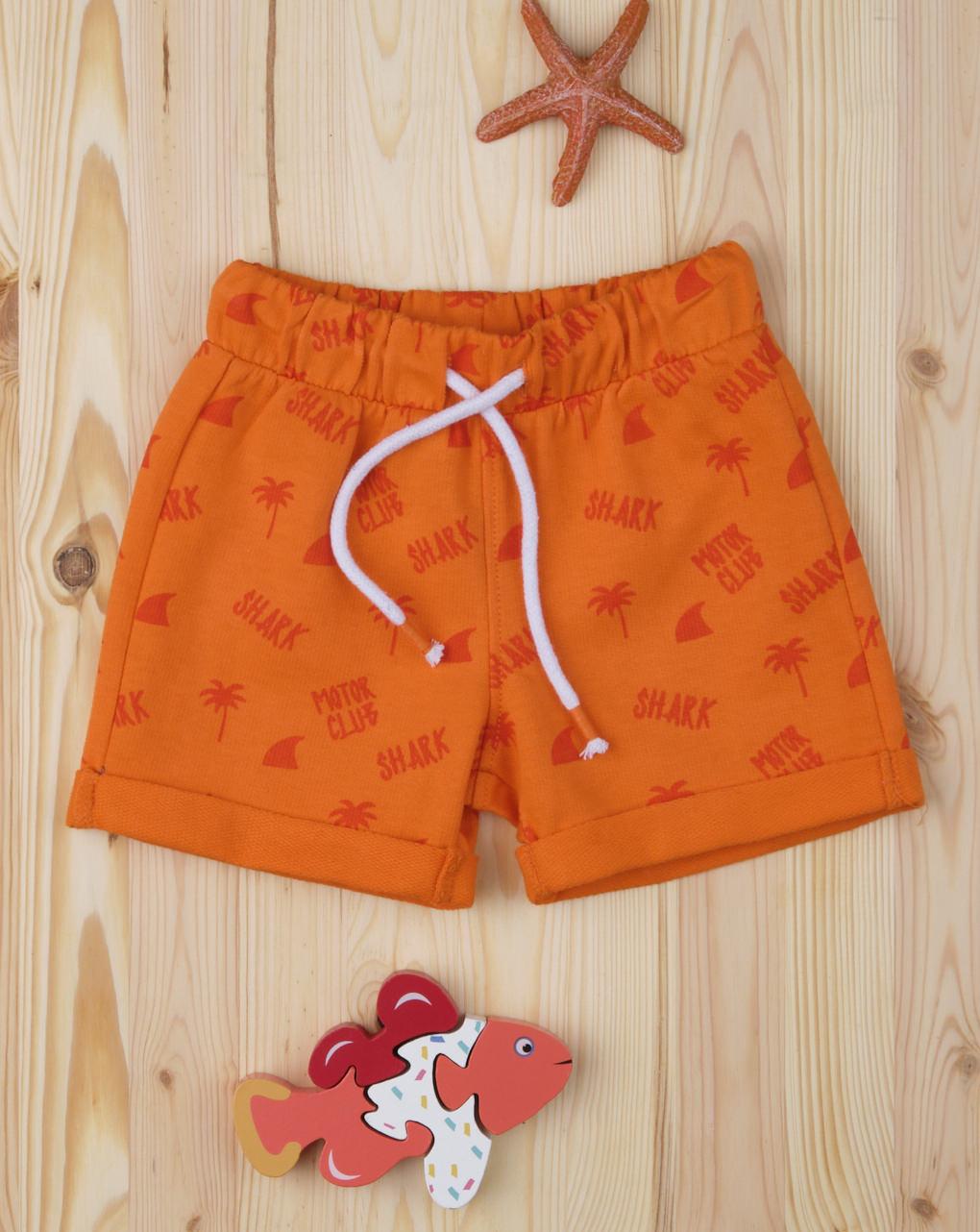 """Shorts bimbo """"orange shark"""" - Prénatal"""