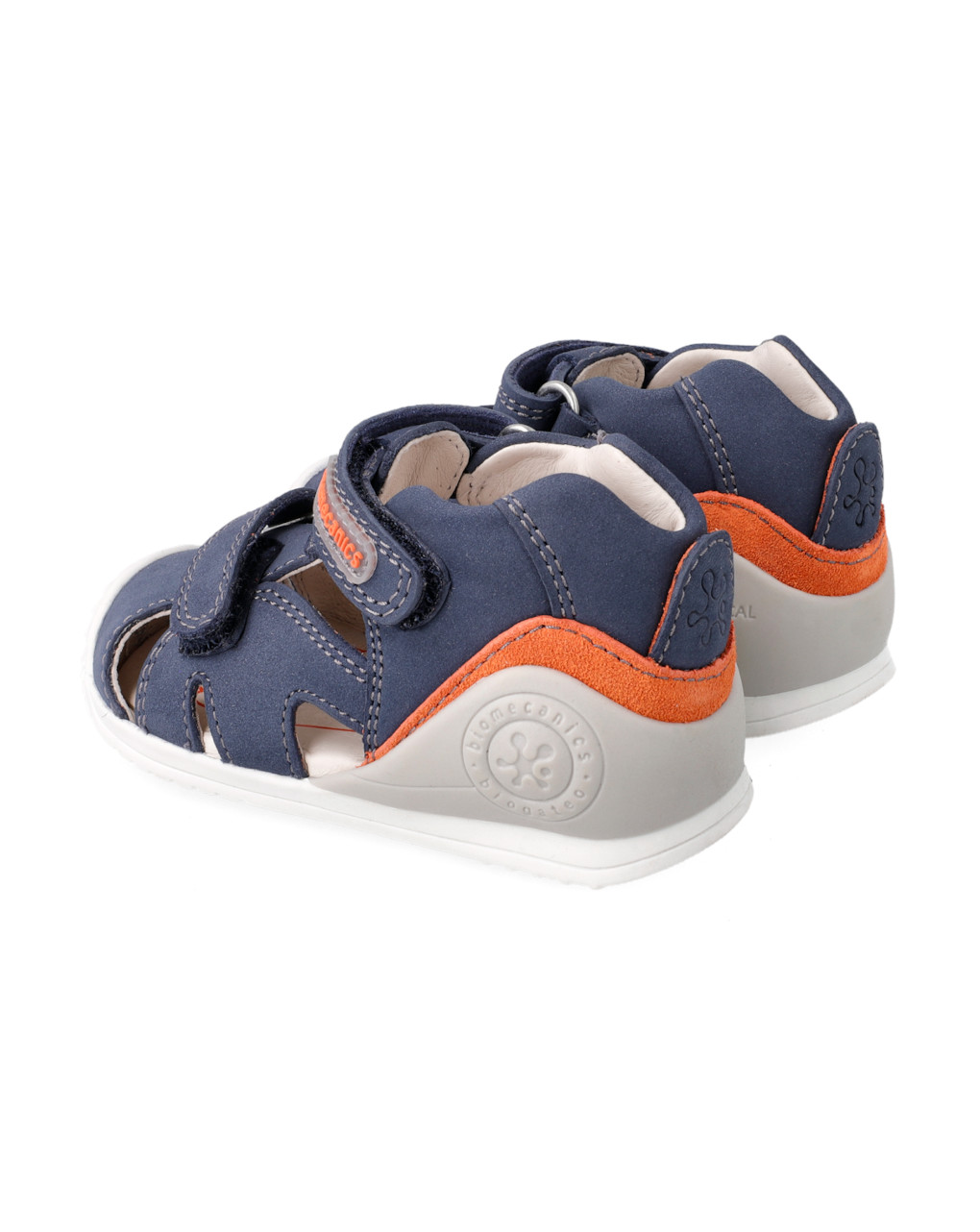 Sandalo semi aperto due strappi - Biomecanics