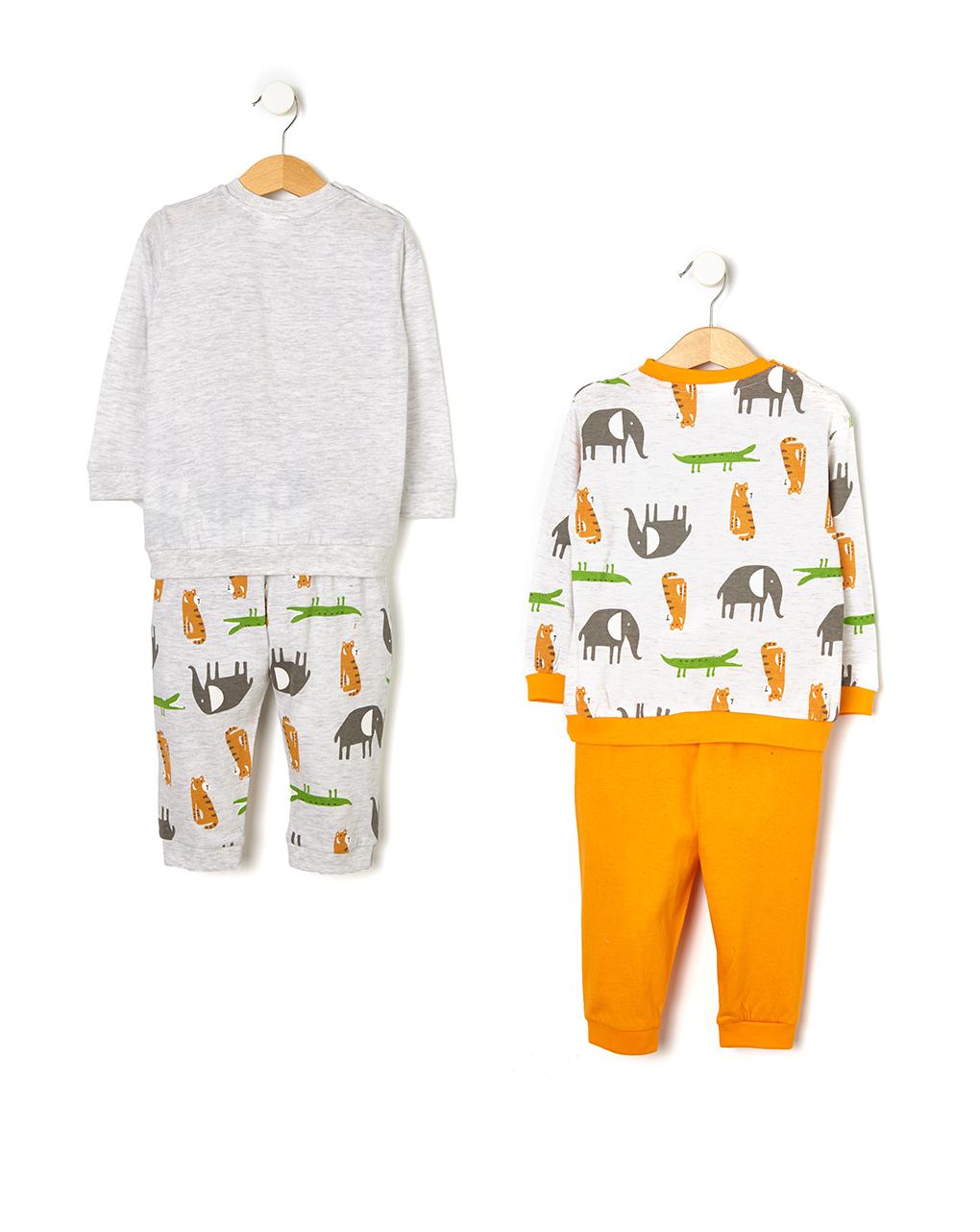 Pack 2 pigiami stampa giungla - Prénatal