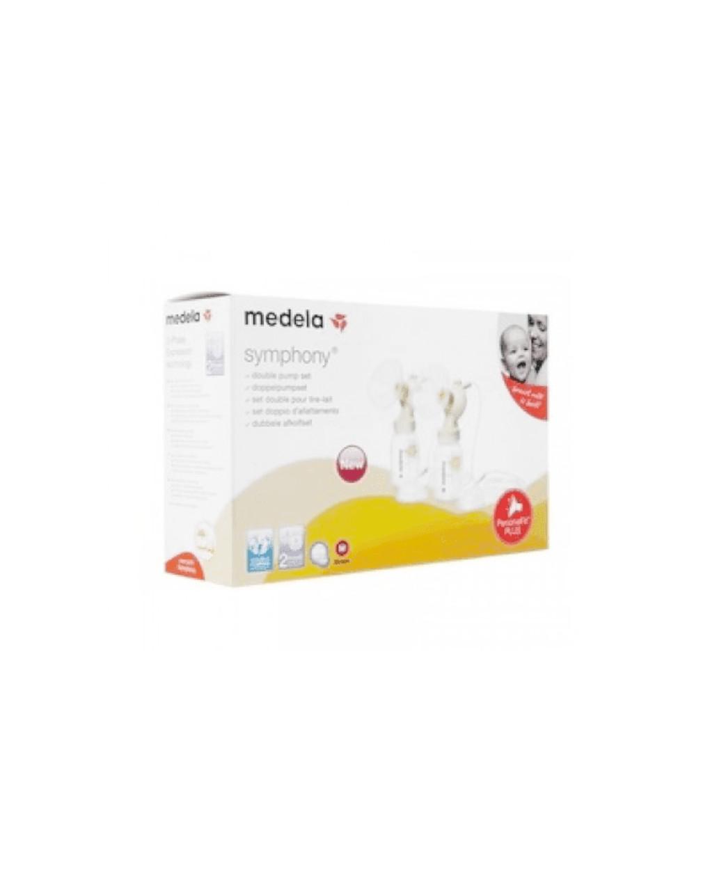 Set symphony doppio con personalfit plus (24 mm) - Medela