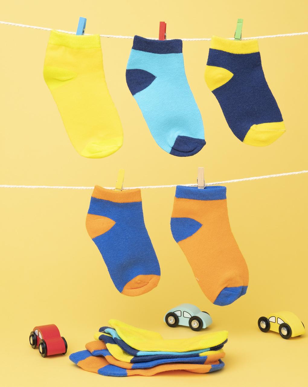 Pack 5 calze boy multicolor - Prénatal