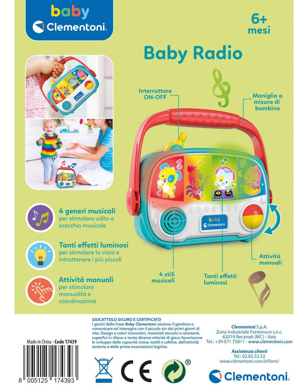 Babyclementoni - baby radio - Baby Clementoni