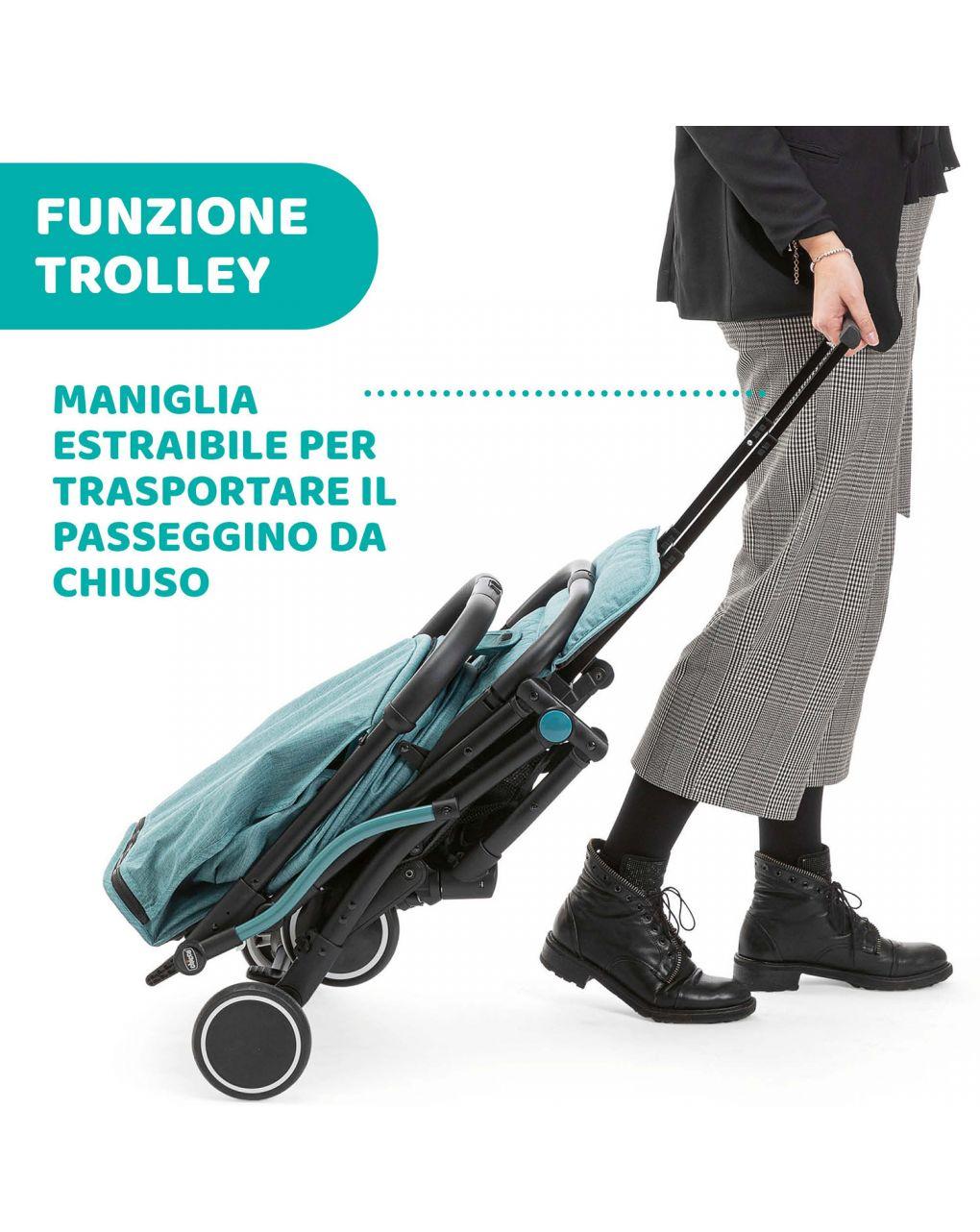 Passeggino trolley me emerald - Chicco