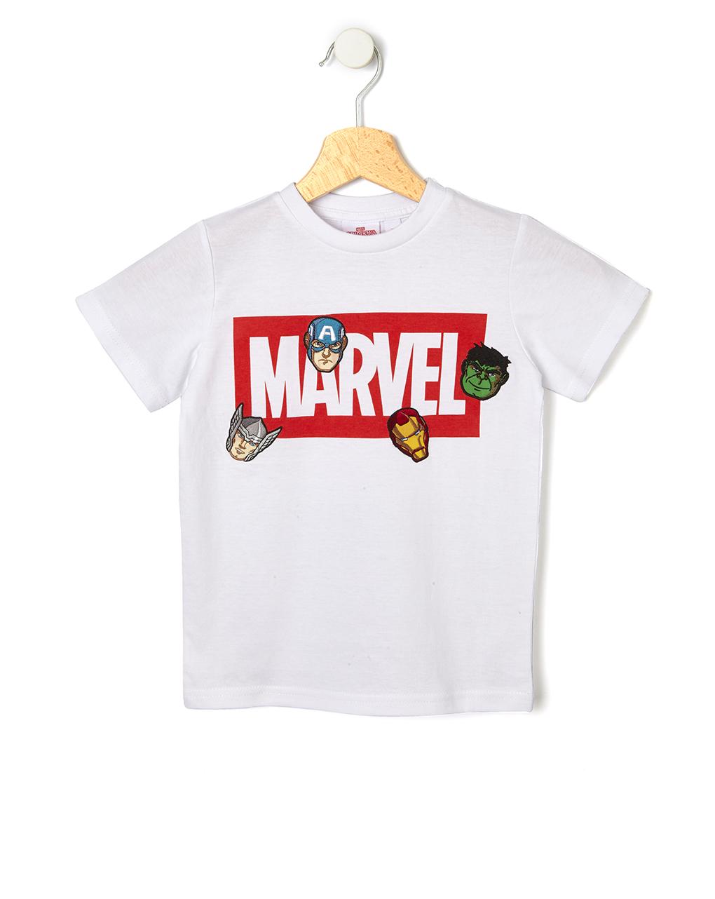 T-shirt mezza manica con stampa marvel - Prénatal