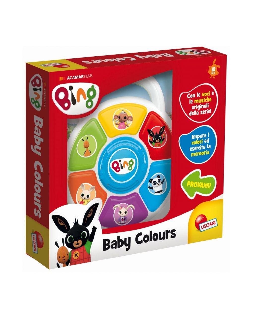 Lisciani – bing baby colours - Bing