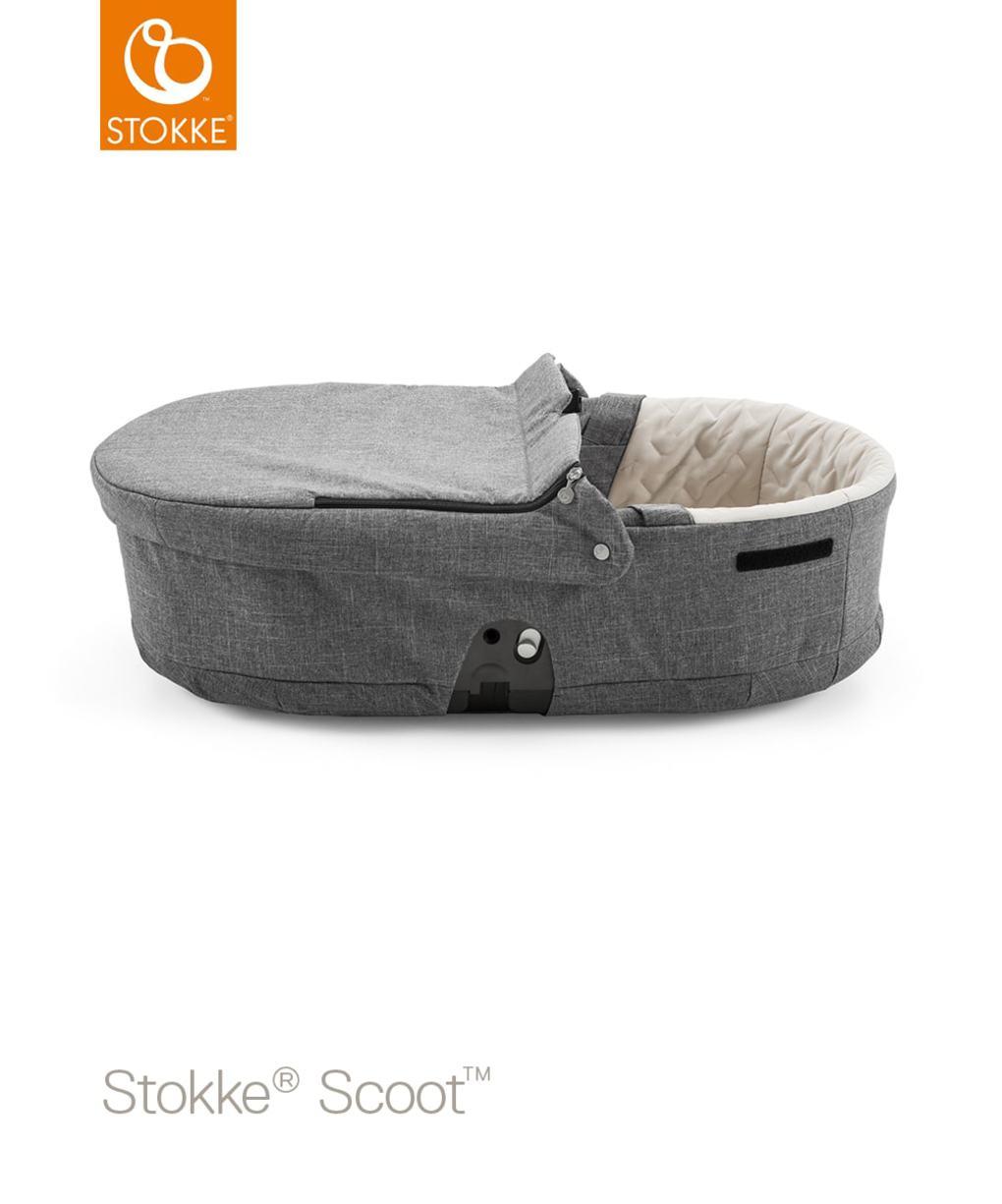 Navicella per stokke® scoot - black melange - Stokke