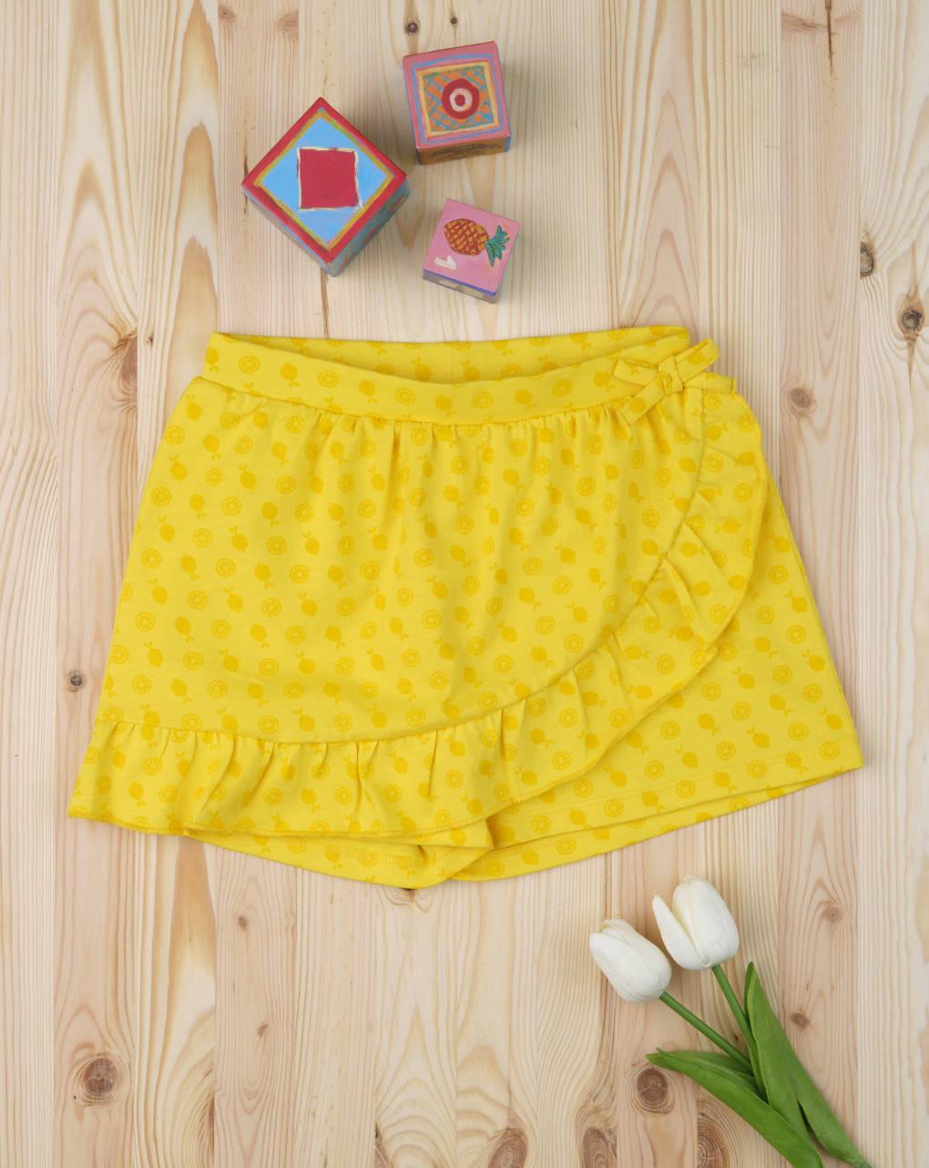 Shorts finta gonna yellow - Prénatal