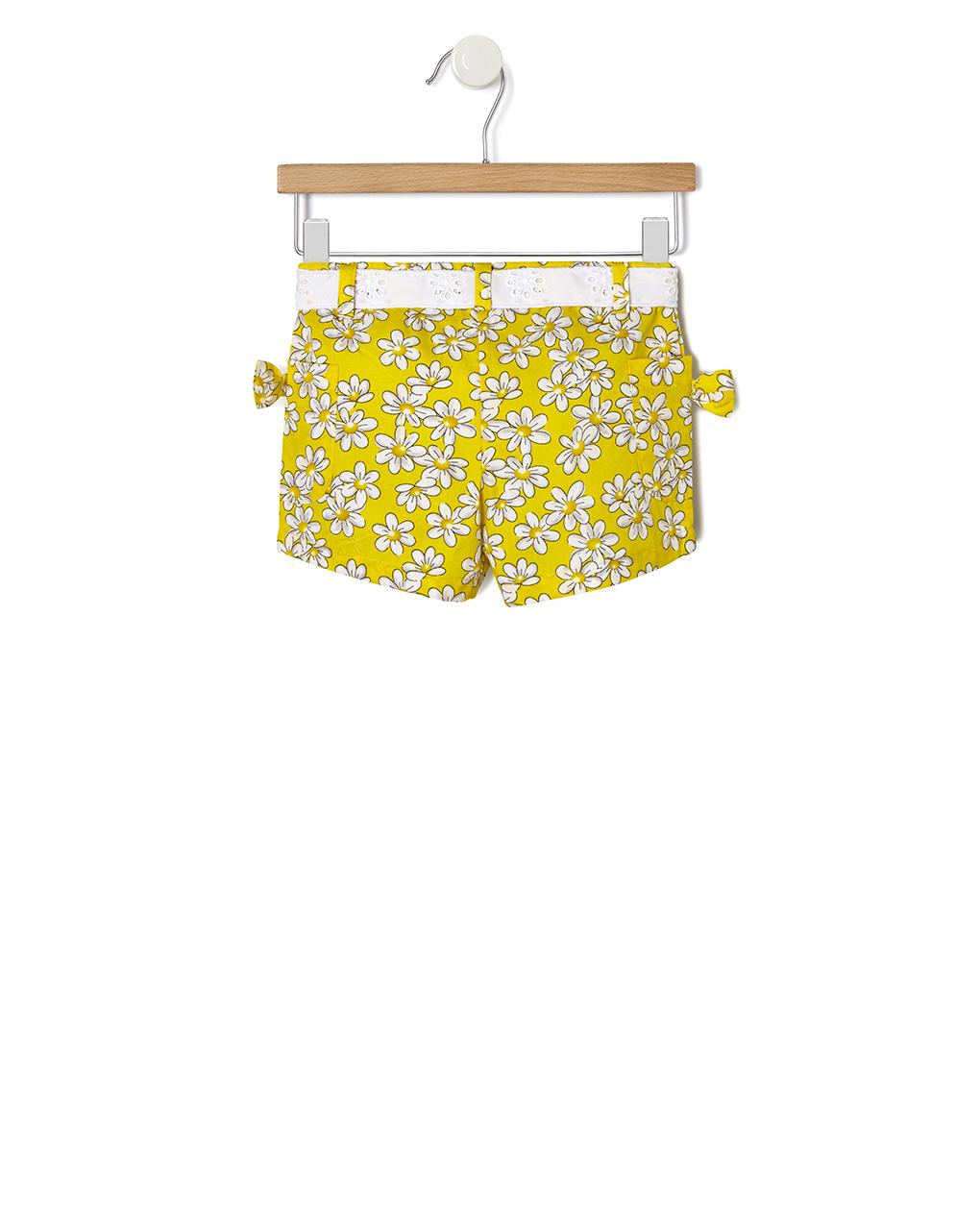 Pantaloncini con stampa allover margherite - Prénatal