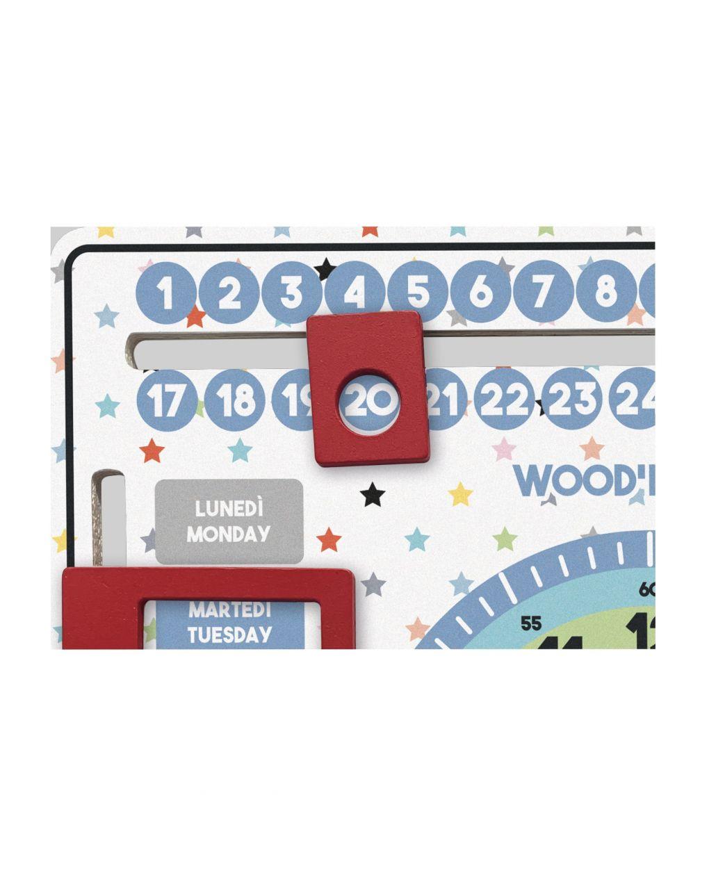 Wood'n'play - calendario didattico - Wood'N'Play