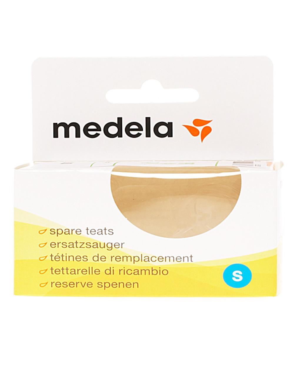 Tettarelle silicone, flusso lento, 2 pz - Medela