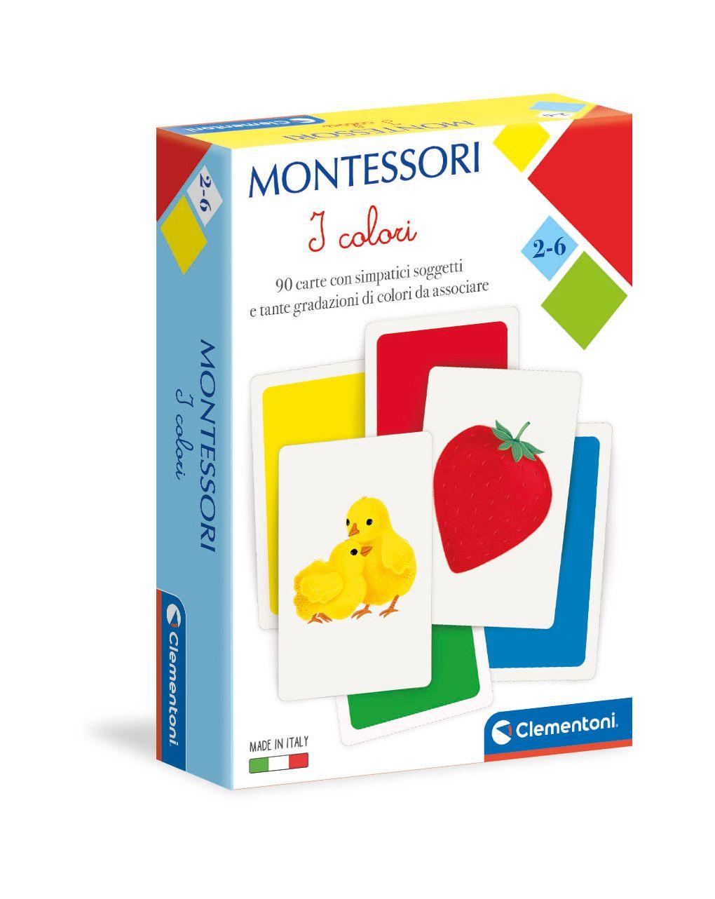 Clementoni - montessori - i colori - Clementoni