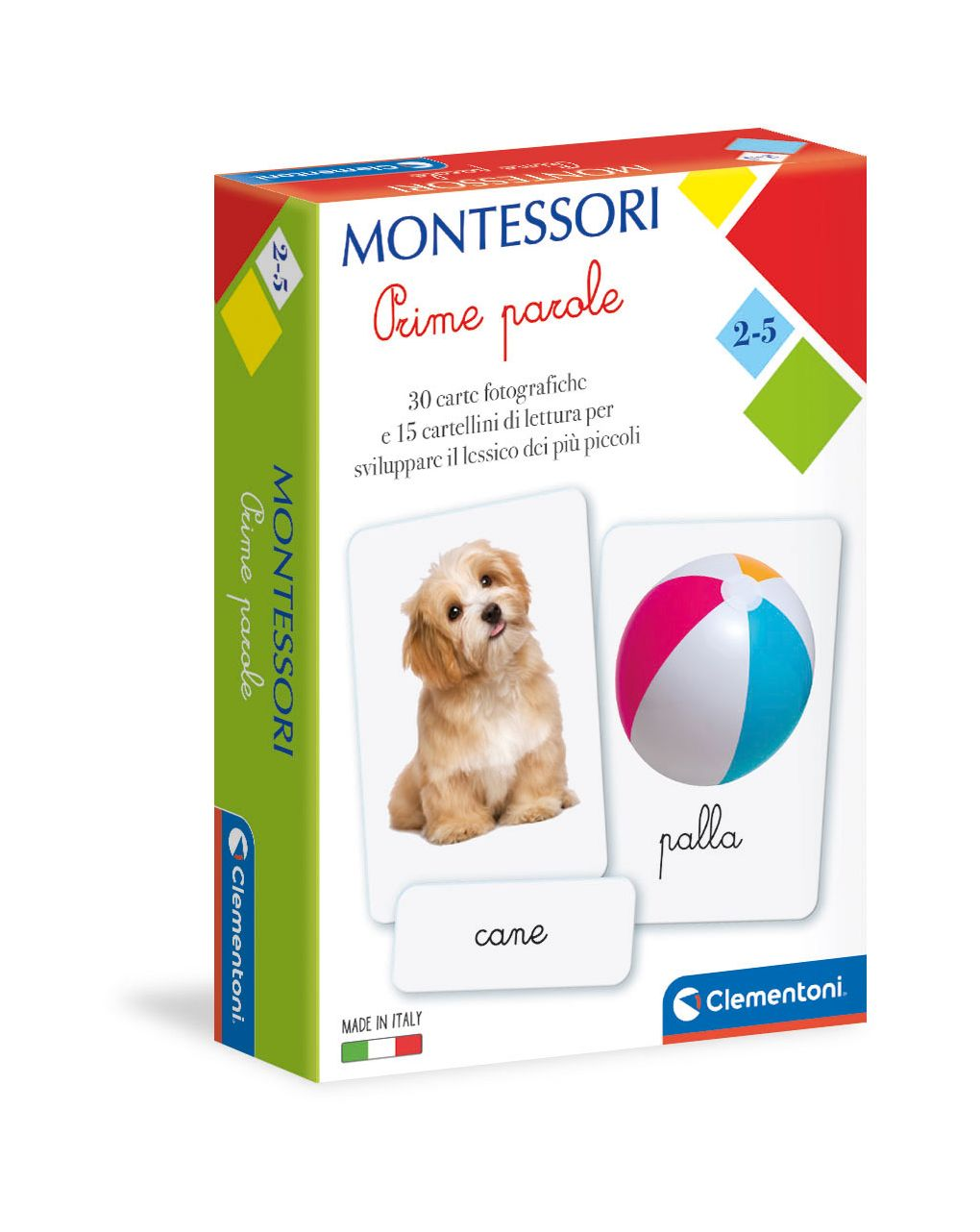 Clementoni - montessori - prime parole - Clementoni